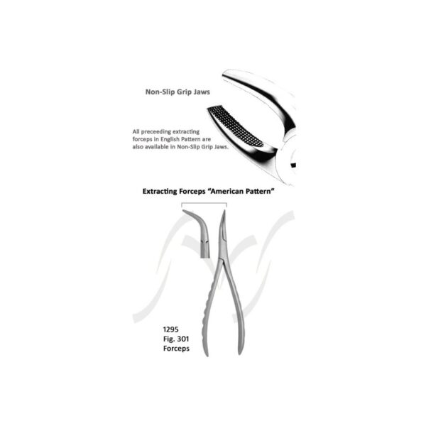 American Extracting Forceps Fig 301