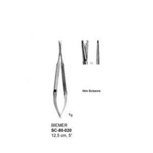 Biemer Vein Scissors SC-80-020