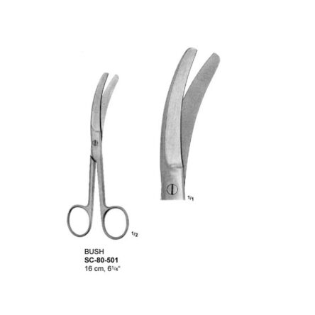 BUSH UMBILLICAL CORD SCISSORS – 16 CM