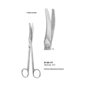 Perineum Scissors ST-86-177