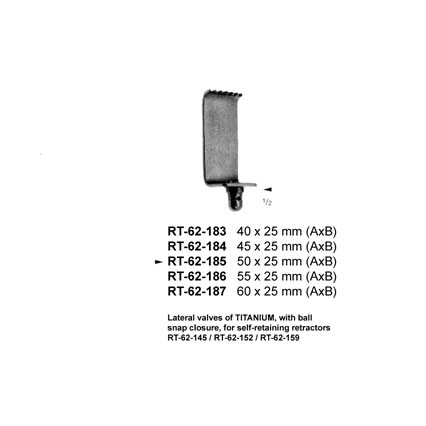 Lateral valves RT-62-183-187