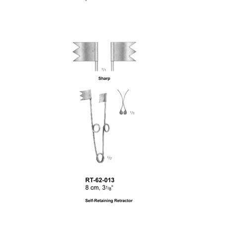Self Retainning Retractors RT-62-013