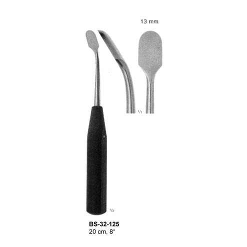 Raspatories with handle from artfical wood BS-32-125