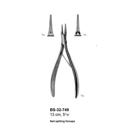 Nail Spliting Forceps BS-32-749