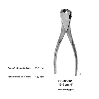 Wire Cutting Plier BS-32-861