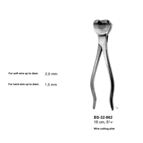 Wire Cutting Plier BS-32-862