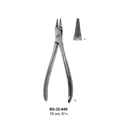 Wire Holding Forcep BS-32-849