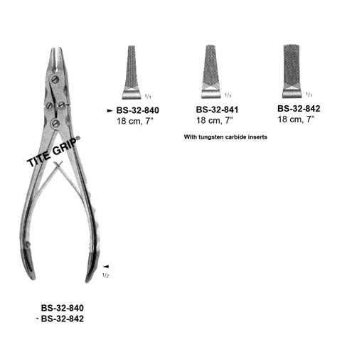Wire Holding Forcep TC BS-32-840-842